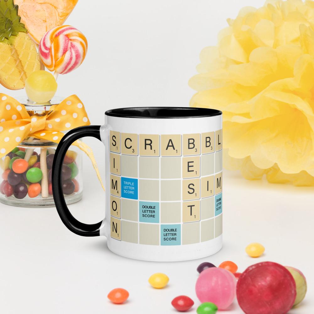 Scrabble Mug Traditional