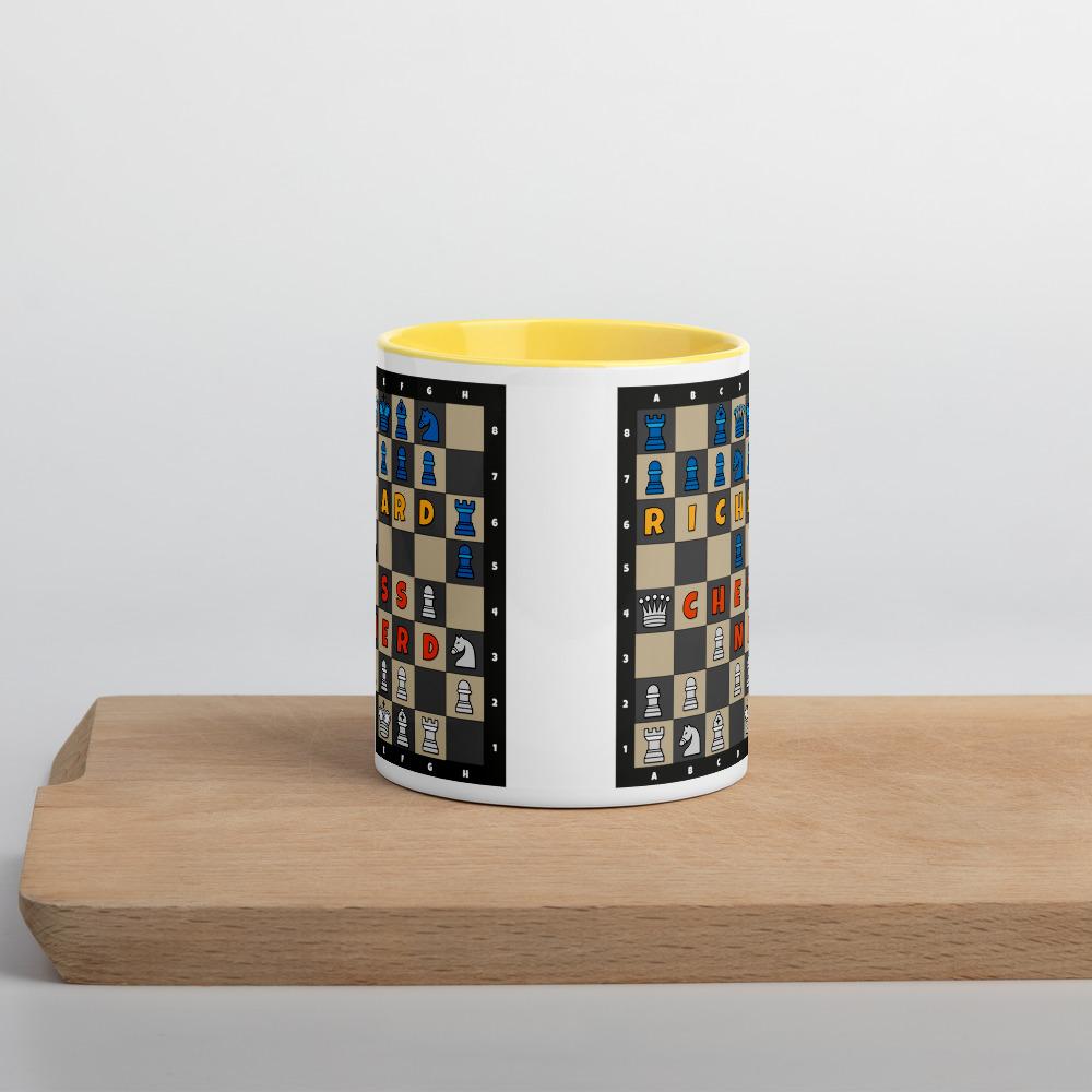 Chess Mug Yellow